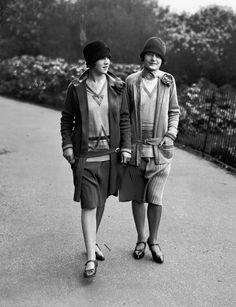 1920 For 1920, this thoroughly modern look is basically the 2004 equivalent of the Mean Girls miniskirt.