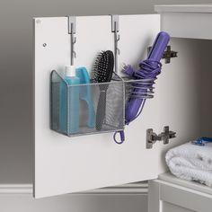 Bathroom Sink Organization, Diy Organization, Bathroom Storage, Organize Bathroom Countertop, Under Bathroom Sinks, Bathroom Ideas, Organized Bathroom, Under Sink Storage, Rv Storage
