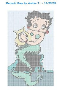 ♥Meus Gráficos De Ponto Cruz♥: Betty Boop   many more on this site