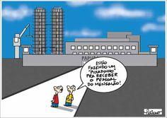 Penitenciária de Brasília em obras...