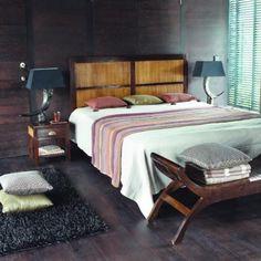sleeping room bamboo #kolonial style #maisonsdumonde
