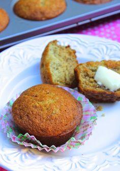 ValSoCal: Moist Banana Bread Muffins