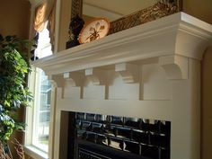 craftsman mantel shelf | Roycroft Fireplace Mantel Designs by Hazelmere Fireplace Mantels ...