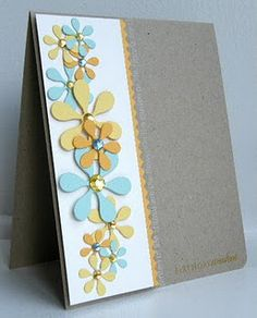Use Cricut Art Philosophy cartridge from Close To My Heart. See my website to… Handmade Greetings, Greeting Cards Handmade, Cute Cards, Diy Cards, Cricut Cards, Heart Cards, Card Tags, Paper Cards, Flower Cards