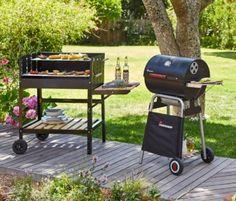 Der preiswerte LANDMANN HOLZKOHLE Grill im BBQ Style ✅ Top Preis-Leistungsverhältnis ᐅ bereits ab CHF 149.00 ✅ Grill Spass im Garten oder auf dem Balkon