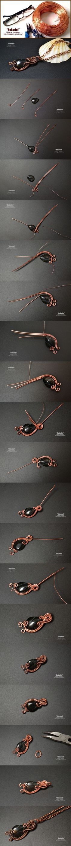 DIY Bijoux  Wire Wrapping for beginners.