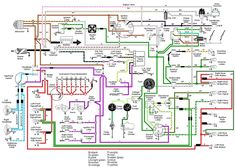 71 VW T3 wiring diagram | Ruthie | Pinterest | Cars, Vw