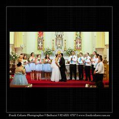 Bathurst wedding photography by Frank Colzato Studio @137 George St Bathurst #bathurst #bathurstwedding #love #wedding #countrywedding #weddingphotos #bigbridalparty #blue