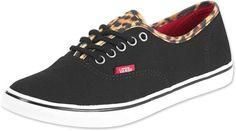 Vans Authentic Lo Pro W schoenen luipaard zwart