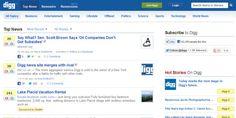Digg.com vendido por 500.000 dólares