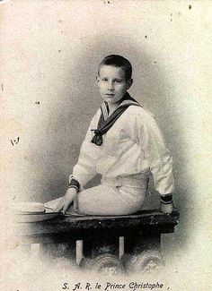 Prince Christopher of Greece and Denmark