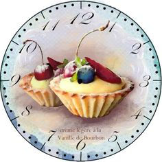 Clock face (for the sweet tooth!