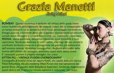 Workshop coreografici con Grazia Manetti al Belly Bolly Dance Festival a Vicenza, il 5 ottobre 2013