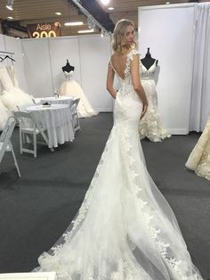 Eve of Milady Spring 2017 Collection available at Bridal Reflections in New York