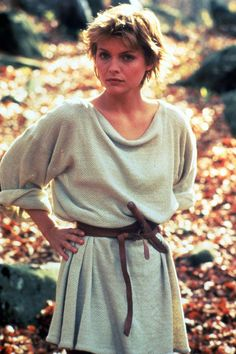 "Michelle Pfiffer (Isabeau) in the 1985 film ""Lady Hawke"""