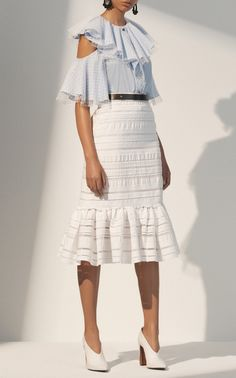 Peplum Skirt by Prabal Gurung
