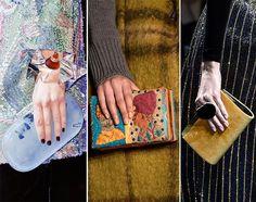 Fall/ Winter 2015-2016 Handbag Trends: Clutches Trendy Handbags, Best Handbags, Winter Trends, Fall Winter 2015, Butterfly Bags, Herve Leger, Pantone Color, Color Trends, Winter Fashion