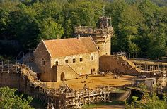 Take a trip back in time at Guedelon Castle in Burgundy, France, where a team of 50 craftspeople and laborers are currently using 13th-century building techniques and technology (think: horses) to construct an authentic castle from scratch, deep within a secluded forest. Visitors are welcomed from mid-March to early November each year.