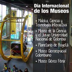 #Bogotá cuenta con una gran variedad de museos, aquí te reflejamos algunas opciones. #DiadelosMuseos  www.vizormobil.com The Incredibles, Image, International Day Of, Museums