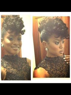 {Grow Lust Worthy Hair FASTER Naturally}>>> www.HairTriggerr.com <<<      Curly Faux Hawk Formal Updo