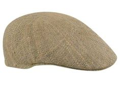 Straw Ascot Cap - Bill the Hatter The Straw Ascot has a hard shell with a distinctly rounded back and a sewn-down bill. It's a summer favorite because it breathes so well. www.billthehatter.com