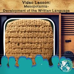 Perfect grab and go lesson for teachers! Lesson features video link, activity worksheets, note taking strategies, discussion prompts, 4 depths of knowledge questions, and project ideas all about the development of the written language.