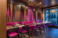 Aurora restaurant and bar by Barmade Interior Design, Zurich   Switzerland restaurant bar