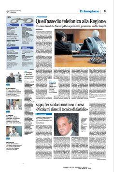 #Cosentino assediava la Regione telefonicamente, l'ex sindaco Zippo rivela le interferenza