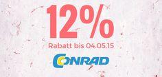 Bis 04.05.15 gibt es bei Conrad satte 12% Rabatt Auch Smartwatchs Gutscheincode -> Shops, Burger King Logo, Computer, Tents, Retail, Retail Stores
