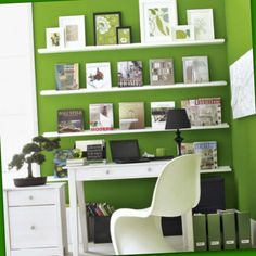 Revive your workspace with the new color of the year, Emerald Green! This color or any bold color can make the difference between procrastination and motivation, specifically in your home office. Want more home decor tip? Subscribe to our newsletter: http://visitor.constantcontact.com/manage/optin/ea?v=001Shc2r56l3J02ho_Nn4qqX5lBT5kqZ6Tuj19NsiYCkGSeC3frdgVznbw9cTiEsUhR_s_n6rea2oOfP2N8Mqet4SWz5ldFpE5Aeij2IK9Lw9A%3D