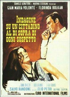 Indagine su un cittadino al di sopra di ogni sospetto (1970) - Elio Petri.