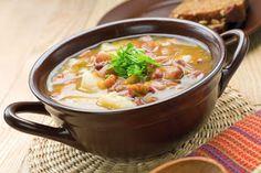 COMIDINHAS FÁCEIS E SAUDÁVEIS: Sopa de feijão com carne e legumes