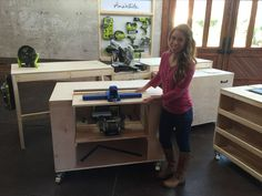 Ana White | Build a Ultimate Roll Away Workbench System for Ryobi Blogger Build-Off | Free and Easy DIY Project and Furniture Plans