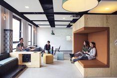 Inside Cingel College's Breda Campus – Cool Office Space Interior Design Colleges, Office Interior Design, Office Interiors, Interior Designing, Interior Paint, Luxury Interior, Design Furniture, Office Furniture, Pipe Furniture
