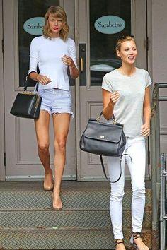 3d5c6e5282a2af Karlie and Taylor Karlie Kloss Street Style