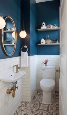 42 Small Bathroom Designs and Ideas - beautiful. - 42 Small Bathroom Designs and Ideas – beautiful. Diy Bathroom, Guest Bathroom, Small Toilet, Small Bathroom Decor, Bathroom Interior, Toilet Design, Bathroom Decor, Bathroom Renovation, Small Bathroom Makeover