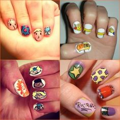 Get Nostalgic: 30 Nail Designs Inspired By 90's Cartoons photo