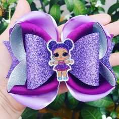 Bow glitter on ribbon Making Hair Bows, Diy Hair Bows, Diy Bow, Rainbow Loom Charms, Rainbow Loom Bracelets, Boutique Bows, Diy Headband, Baby Headbands, Flower Headbands