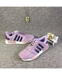 d7cbda53d3ea Adidas NMD R1 Light Purple Pink Shoes Womens Cheap Sale Adidas Nmd R1 Pink