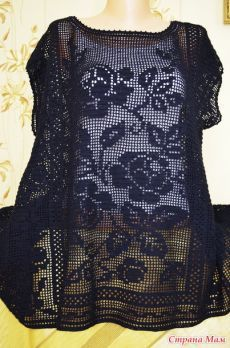 - Dalia Ivanova - Álbuns da web do Picasa Crochet Tunic Pattern, Crochet Jacket, Crochet Cardigan, Crochet Top, Crochet Sweaters, Vestidos Bebe Crochet, Fillet Crochet, Crochet Woman, Beautiful Crochet