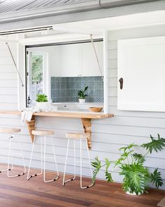 kitchen furniture – My WordPress Website Small Pool Houses, Modern Pool House, Backyard Guest Houses, Outdoor Kitchen Cabinets, Kitchen Dining, Home Renovation, Home Remodeling, House Cladding, Flat Ideas