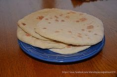 Share the Journey: Homemade Flat Bread