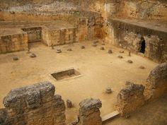 Tumba de Servilia, de la Necrópolis romana de Carmona. Es una tumba de la época de Claudio (siglo I).