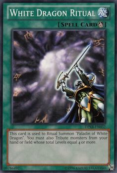 The Arabic, Chinese, Croatian andThai names given are not official. (card names) The Chinese lore given is not official. Yu Gi Oh, Revelation 1, Pokemon, White Dragon, White Wolf, Summoning, Paladin, Monster, I Card