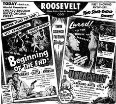 June 19 1957 Scenes Filmed In Chicago Giant Grasshoppers
