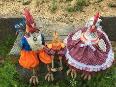 Игрушки животные, ручной работы. Курица текстильная. Мастер Татьяна Хрусталева…