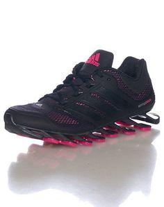 huge selection of eff05 24f29 Amazon.com   adidas Running Women s Springblade Drive Black Solar Pink Black  7 B - Medium   Running