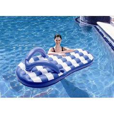 Flip Flop pool floatie #pool #summer #flotation