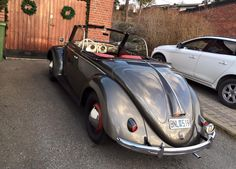 Classic Car News Pics And Videos From Around The World Vw Vintage, Vintage Porsche, Volkswagen, Vw Bus, Rat Hod, Vw Cabrio, Vw Beetle Convertible, Combi Vw, Vw Beetles