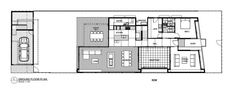 New House At Milton St Elwood Victoria / Jost Architects ground floor plan – ArchDaily